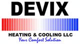 Devix Heating & Cooling Logo
